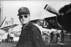 Su una portaerei americana in licenza da Sidney Terz Vietnam