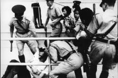 Terzani H.K. durante gli scontri