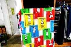 17)anta dell'armadio con una sola anta,copertina peanuts,-avevo circa 2 -3 anni,armadio della mia infanzia