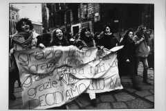 """73-Graziella-Almasio-""""Manifestazione-per-l'aborto""""-Milano-gennaio-1978-"""