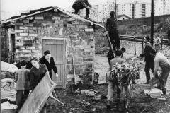 """12 R.A.I. Archivio fotografico. De Sica. """"Il tetto"""" 22nov. 1967"""