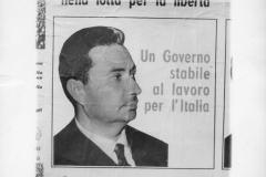 76ph.  Massimo Cirilli. Manifesto elettorale di Aldo Moro (D.C.)