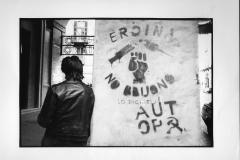 81Ph. Paolo Siccardi:Contrasto. Torino scritta sul muro contro la droga