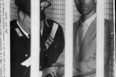 82 Il Tempo-Archivio 27 maggio 1985. Alì Agca nell'aula del tribunale per l'inizio del processo per l'attentato al Papa