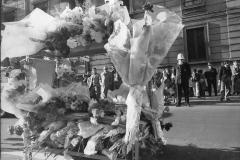 86 L'Avanti!-Archivio. Luogo dove è caduto l'agente Marino. 15 aprile 1973