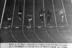 89 Roma 3.9.1960 Olimpiadi. Livio Berruti vince col record olimpico