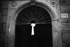 A1 16 Roma 23 maggio 1942 Roma.Nascita di Carlo,nastro bianco in casa Ceccarelli