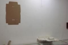 parete destra,a prevalenza cartone anziche' plastica