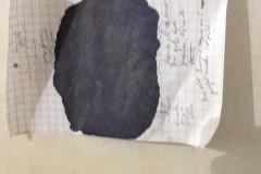 dettaglio dell'opera alta piu di 170 cm