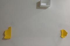 """4 coppie """"ritmiche"""" parete plastica polistirolo"""