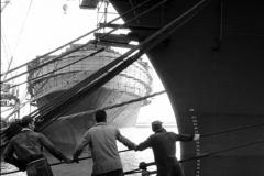 La Spezia, i lavoratori del porto 1959