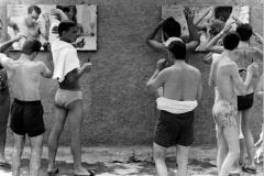 Lido di Carollo a Pozzuoli (Napoli) 1959.