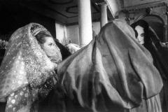 Principato di Monaco, la principessa Grace kelly ad un ballo mascherato (1965)