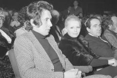Patty Pravo al teatro Sistina con il marito Franco Baldieri Italy's News Photos di Guglielmo Coluzzi