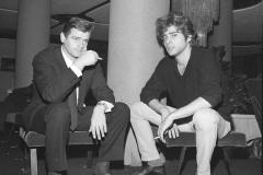 Ricky Shayne e Sergio Endrigo Italy's News Photos di Guglielmo Coluzzi