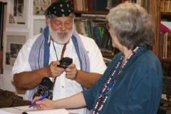 Bruce Weber e Giosetta Fioroni