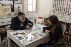 Bruce Weber e Silvia Di Paolo