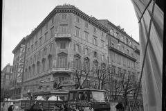 V. Biffani Christo The Wall, wrapped Roman Wall via Veneto & villa Borghese, Rome 26 gennaio 1974-16