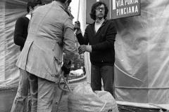 V. Biffani Christo The Wall, wrapped Roman Wall via Veneto & villa Borghese, Rome 26 gennaio 1974-2
