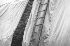 V. Biffani Christo The Wall, wrapped Roman Wall via Veneto & villa Borghese, Rome 28 gennaio 1974-60