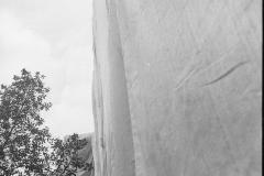V. Biffani Christo The Wall, wrapped Roman Wall via Veneto & villa Borghese, Rome 28 gennaio 1974-66