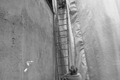 V. Biffani Christo The Wall, wrapped Roman Wall via Veneto & villa Borghese, Rome 28 gennaio 1974-70