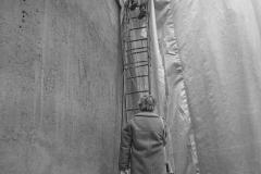 V. Biffani Christo The Wall, wrapped Roman Wall via Veneto & villa Borghese, Rome 28 gennaio 1974-71jpg