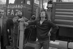 V. Biffani Christo The Wall, wrapped Roman Wall via Veneto & villa Borghese, Rome 28 gennaio 1974-81