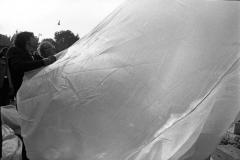 V. Biffani Christo The Wall, wrapped Roman Wall via Veneto & villa Borghese, Rome 28 gennaio 1974-87c