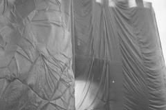 V. Biffani Christo The Wall, wrapped Roman Wall via Veneto & villa Borghese, Rome 28 gennaio 1974-91
