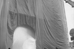V. Biffani Christo The Wall, wrapped Roman Wall via Veneto & villa Borghese, Rome 28 gennaio 1974-92