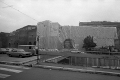V. Biffani Christo The Wall, wrapped Roman Wall via Veneto & villa Borghese, Rome 29 gennaio 1974-93