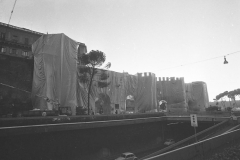 V. Biffani Christo The Wall, wrapped Roman Wall via Veneto & villa Borghese, Rome 29 gennaio 1974-98