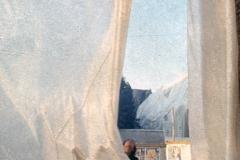 Vittorio Biffani Christo The Wall, wrapped Roman Wall via Veneto & villa Borghese, Rome 26 gennaio 1974-20