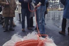 Vittorio Biffani Christo The Wall, wrapped Roman Wall via Veneto & villa Borghese, Rome 26 gennaio 1974-21