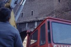 Vittorio Biffani Christo The Wall, wrapped Roman Wall via Veneto & villa Borghese, Rome 26 gennaio 1974-29