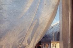 Vittorio Biffani Christo The Wall, wrapped Roman Wall via Veneto & villa Borghese, Rome 26 gennaio 1974-33