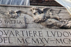 Vittorio Biffani Christo The Wall, wrapped Roman Wall via Veneto & villa Borghese, Rome 26 gennaio 1974-52
