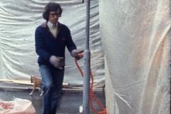 Vittorio Biffani Christo The Wall, wrapped Roman Wall via Veneto & villa Borghese, Rome 26 gennaio 1974-55
