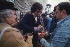 Vittorio Biffani Christo The Wall, wrapped Roman Wall via Veneto & villa Borghese, Rome 26 gennaio 1974-62