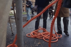 Vittorio Biffani Christo The Wall, wrapped Roman Wall via Veneto & villa Borghese, Rome 26 gennaio 1974-64