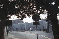 z Gianni Termorshuizen Christo The Wall, wrapped Roman Wall via Veneto & villa Borghese, Rome 6