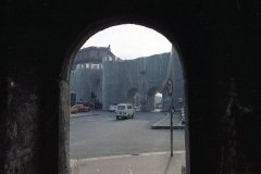 z Gianni Termorshuizen Christo The Wall, wrapped Roman Wall via Veneto & villa Borghese, Rome 9