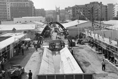 1950 14 ottobre Mostra Nazionale dell'Edilizia e dell'abitazione allestita a Piazzale Clodio  Roma