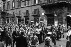 1950 22 marzo Disordini a Roma per lo sciopero generale Roma