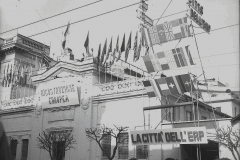 """1950 22 novembre inaugurazione """"La città dell'ERP """"(ricostruzione europea"""