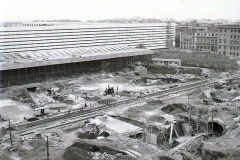 1950  Lavori per la metropolitana (Termini).