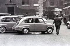 1958 Traffico a piazza Venezia