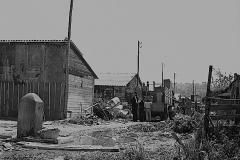 1958 trasloco sfollati campo Parioli