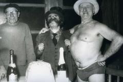 1959 1 gennaio 1959 Mister O.Key attraversa a nuoto il Tevere la notte di Capodanno